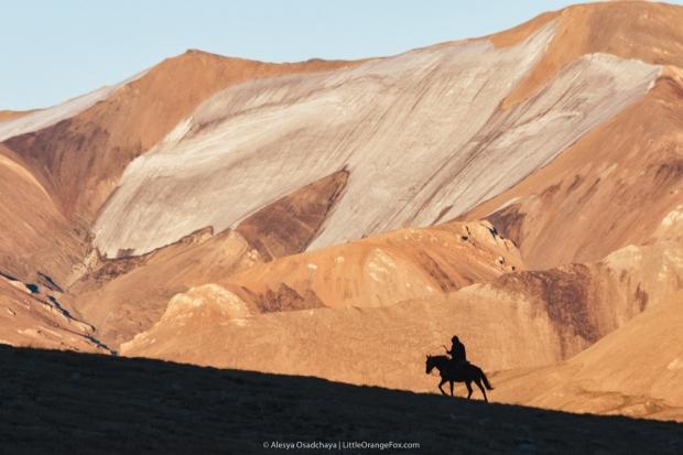 Кыргызстан, Дорога домой плато Арабель 2